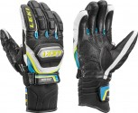 Leki Worldcup Racing Titanium Speed S Handschuhe Black/Cyan