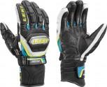 Leki Worldcup Racing Titanium Speed S Handschuhe Black/Cyan