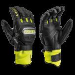 Leki Worldcup Racing Titanium Speed S Handschuhe  Black/Yellow Modell 2021
