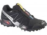SALOMON Speedcross 3 GTX Gore-Tex Herren BLACK/BLACK/SILBER