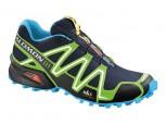 SALOMON Speedcross 3 Herren LAKE/FLUO GREEN/BLUE L 360027