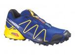 SALOMON Speedcross 3 Herren Größe 7,5  BLUE/YELLOW/BK  L 366736