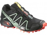 SALOMON Speedcross 3 Damen BLACK/NECTARINE/LICHE L 378328