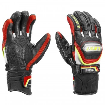 Leki Worldcup Racing Titanium Speed S Handschuhe  Black/Red
