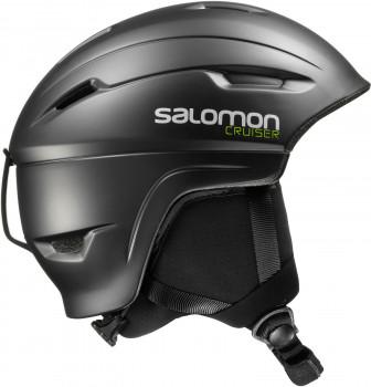 Salomon Cruiser 4D Black Skihelm Größenwahl