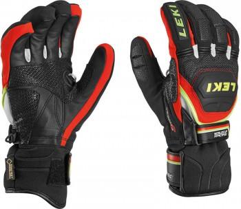 Leki Worldcup Race Coach Flex S GTX Handschuhe black/red