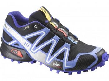 SALOMON Speedcross 3 GTX Gore-Tex Damen  BLACK/PETUNIA/BLUE