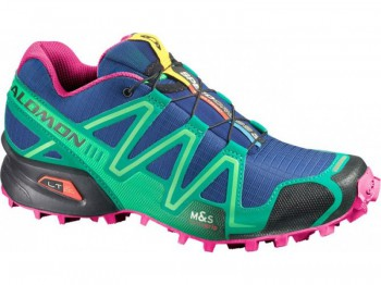 SALOMON Speedcross 3 Damen BLUE/EMERALGREEN/PK L366442