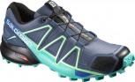 SALOMON Speedcross 4 Damen Slateblue/Spa Blue Größe 4,5