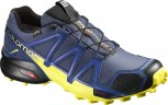 SALOMON Speedcross 4 GTX Gore-Tex  Herren Slateblue/Yellow Größe UK 8,5