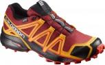 SALOMON Speedcross 4 GTX Gore-Tex  Herren Red Dalhia Größe UK 9,5 = 44