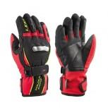 Leki Worlducp Junior GTX S Trigger System Größe 5 Handschuhe Rot/Black