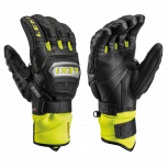 Leki Worldcup Racing Titanium Speed S Handschuhe  Black/Yellow Modell 2021