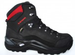 LOWA Renegade GTX Mid Damen Black/Red