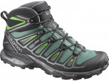 SALOMON X-ULTRA 2 MID GTX Gore-Tex  Herren BETTLE GREEN/BLACK