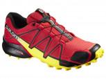 SALOMON Speedcross 4 Herren Größe 8 = 42  RADIANT RED/BLACK/YELLOW L38115400