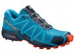 SALOMON Speedcross 4 Herren Men  L40786400 Fjord Blue/Navy Blaz  UK 11 = 46