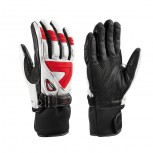 Leki GRIFFIN S Handschuhe mit Trigger S System white/red