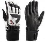 Leki GRIFFIN S Handschuhe mit Trigger S System White /Black