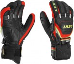 Leki Worldcup Race Coach Flex S GTX Handschuhe black/red