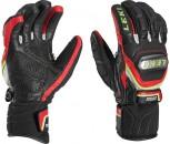 Leki WORLDCUP RACING  TITANIUM S Black/Red Handschuh Größe 8  mit Trigger S System