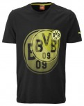 PUMA BVB Graphic Tee Black  MEN Größe