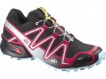 SALOMON Speedcross 3 CS Damen BLACK/LOTUS PINK Größe 6,5 = 40  L369821