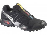 SALOMON Speedcross 3 GTX Gore-Tex Herren BLACK/BLACK/SILBER