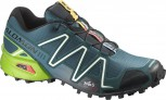SALOMON Speedcross 3 Herren  COBALT BLUE/GREEN/BK L 327841