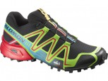 SALOMON Speedcross 3 Herren  BLACK/GREEN/RED