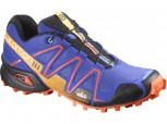 SALOMON Speedcross 3 Herren  Cobalt/Tomato Red/BK  L 376089