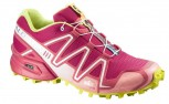 SALOMON Speedcross 3 Damen  LOTUS PINK/PAPAY/GREEN L371076
