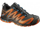 SALOMON XA Pro 3D GTX Gore-Tex  Herren  BLACK/TOMATO RED/BLUE LINE