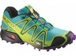 SALOMON Speedcross 3 Damen Teal Blue/Green Größe UK 4,5 = 37 1/3