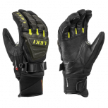 Leki Worldcup Race Coach C-Tech S Black/Yellow  Handschuhe Größenwahl
