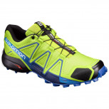 SALOMON Speedcross 4 Herren Men  L 392399 Lime Green /Nautical Blue