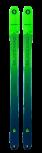 BLIZZARD Zero G 095 Tourenski Freeride Modell 2020/2021